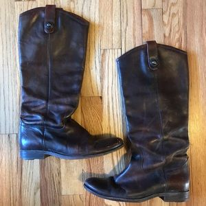 Frye Tall Melissa Riding Boots